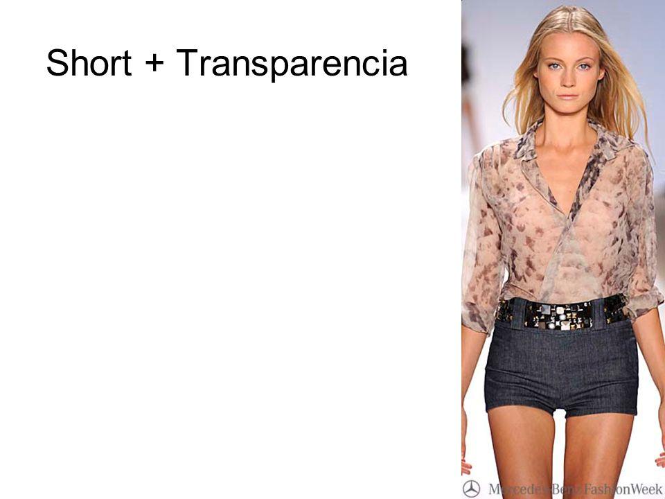 Short + Transparencia