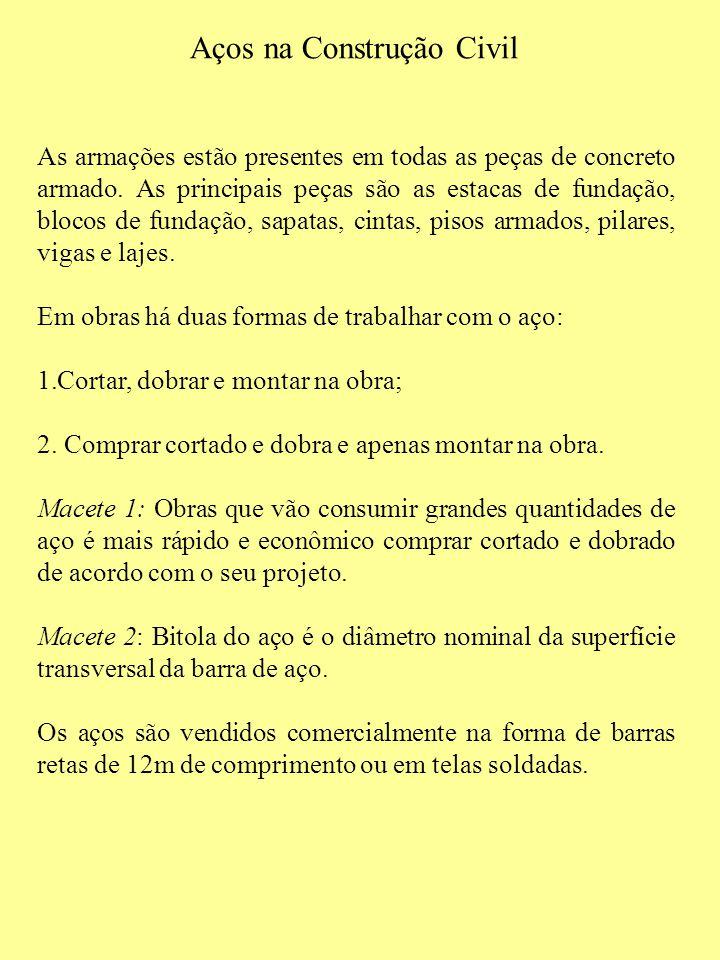 14 QUAIS SÃO OS PRINCIPAIS TIPOS DE AGREGADOS PARA CONFECÇÃO DE CONCRETO ARMADO.