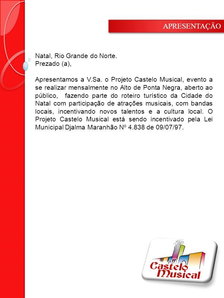 Natal, Rio Grande do Norte.Prezado (a), Apresentamos a V.Sa.