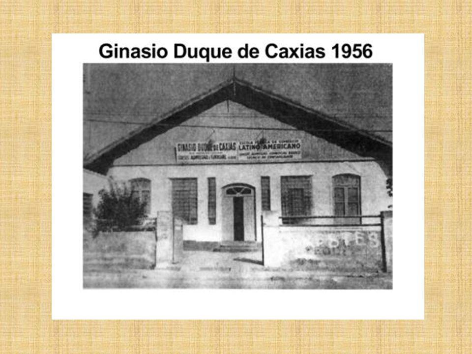 Inicio dos anos 50 - Ginásio Duque de Caxias