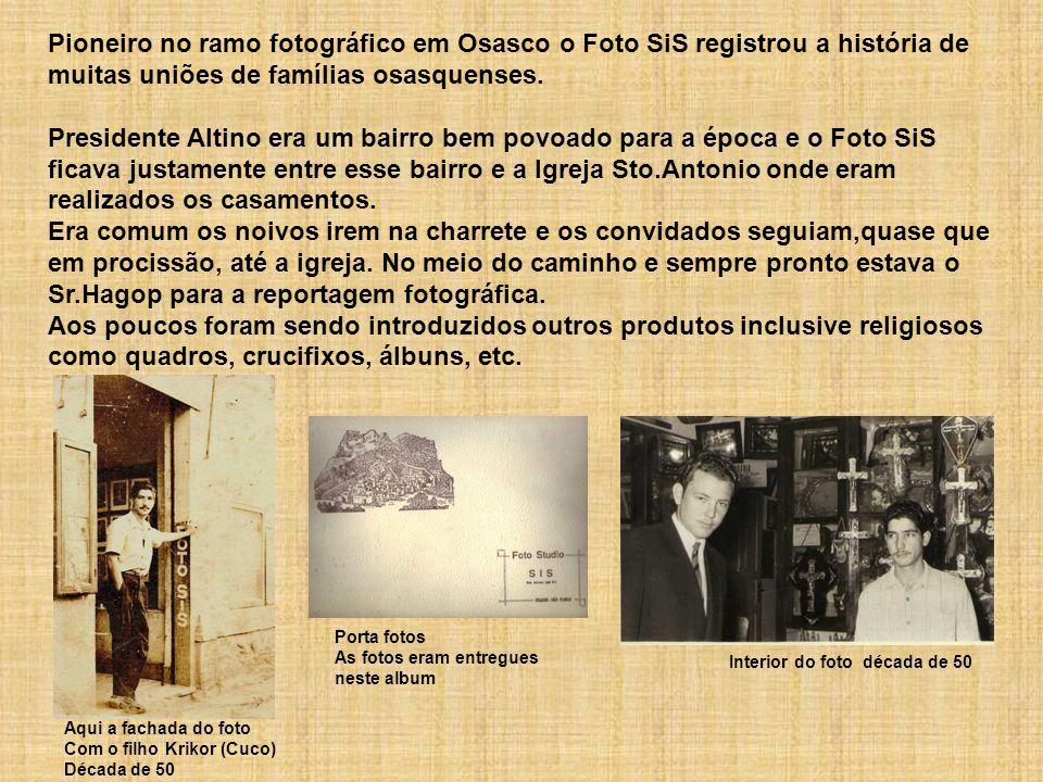 De fronte a residência do Sr. Hagop ficava a Fabrica de Tecido Fábrica de tecidos de algodão Enrico Dell'Ácqua & Cia., que mais tarde passaria a se ch