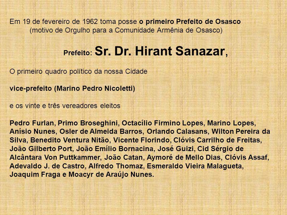A emancipação político-administrativa de Osasco aconteceu no dia 19 de fevereiro de 1962.