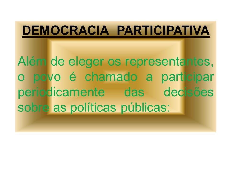 - REFERENDOS – 2005 – Desarmamento; -Plebiscito – 1993 – Sobre se o Brasil seria monarquia ou república / parlamentar ou presidencialista;