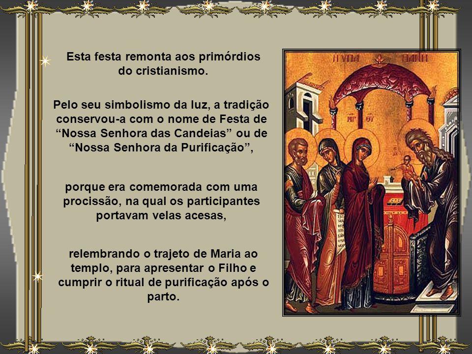 Celebramos, no dia 2 de fevereiro, a grande festa da Apresentação de Jesus no templo. Cumprindo a tradição judaica, Ele foi levado por sua Mãe, Maria