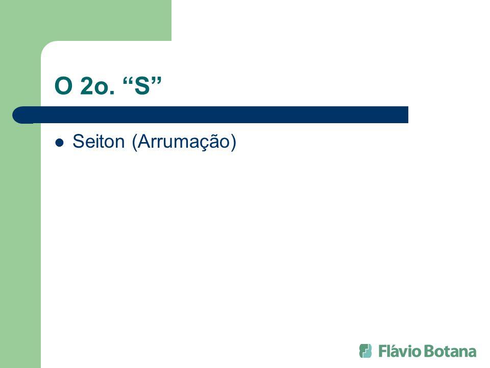 O 2o. S Seiton (Arrumação)