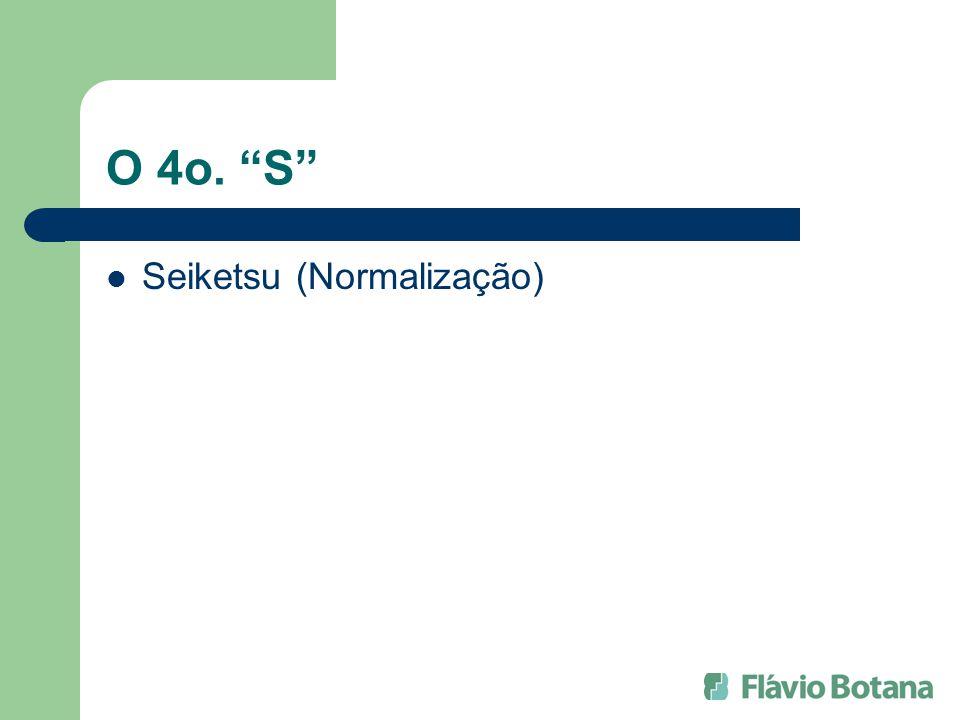 O 4o. S Seiketsu (Normalização)