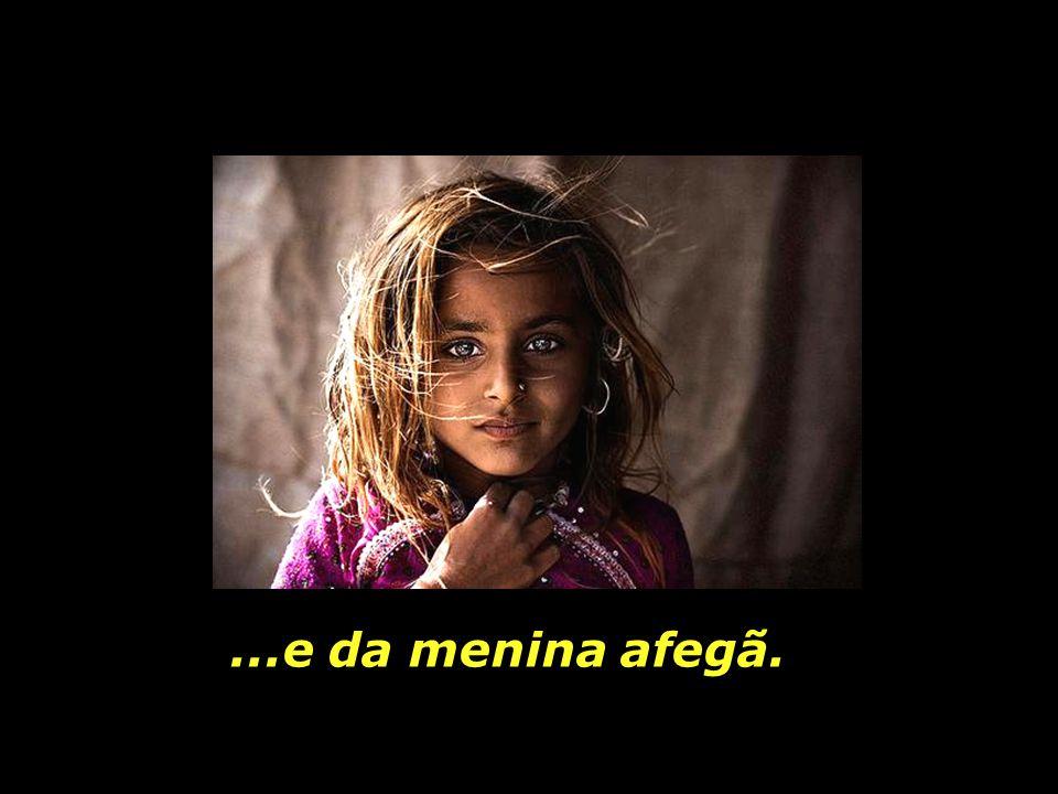 Um outro mundo possível, onde sejam respeitados os direitos básicos da menina africana, da menina peruana,...