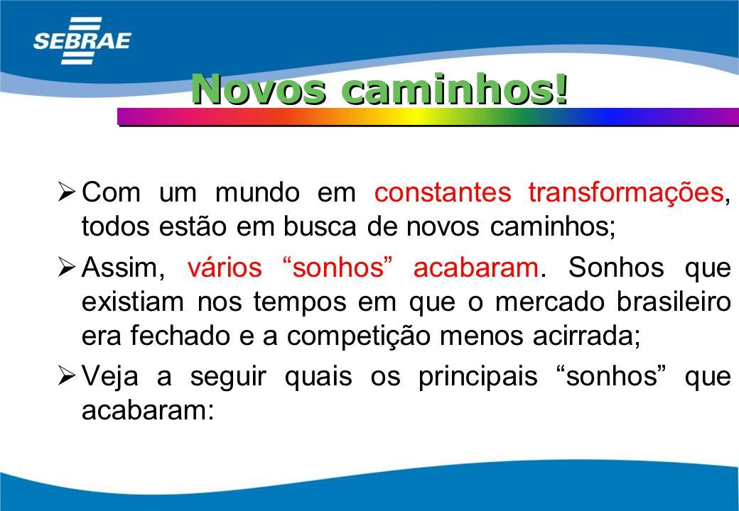 O Brasileiro como empreendedor Outro dado interessante sobre o Brasil é o empreendedorismo do brasileiro; O brasileiro é um empreendedor. É uma caract