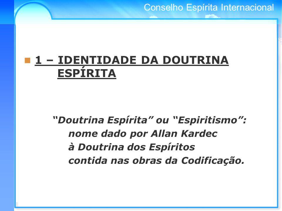 Conselho Espírita Internacional 3 – OBSERVAÇÕES DE PAULO DE TARSO Onde está o Espírito do Senhor, aí há liberdade.
