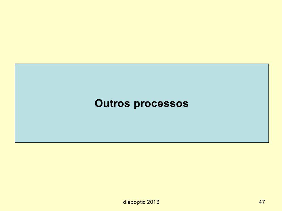 47 Outros processos dispoptic 2013