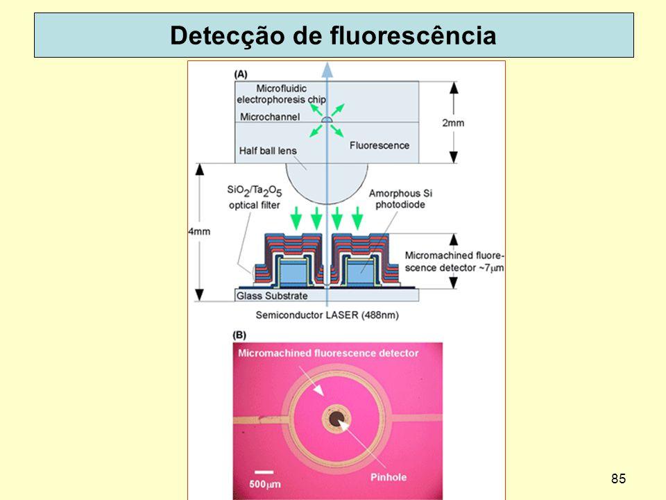 85 Detecção de fluorescência dispoptic 2013