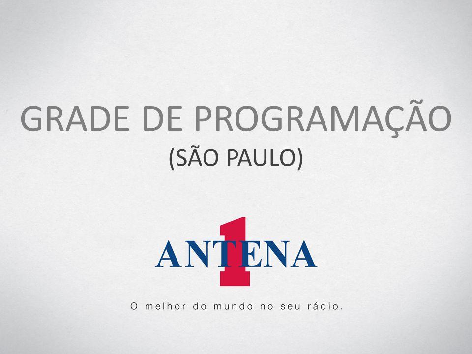 GRADE DE PROGRAMAÇÃO (SÃO PAULO)