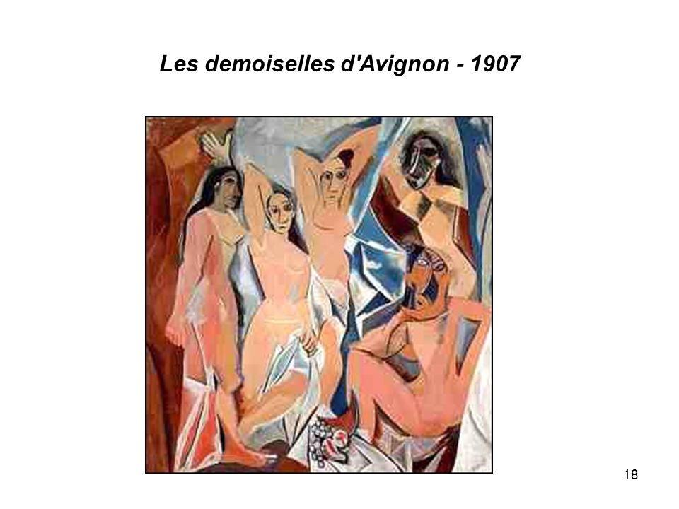 Les demoiselles d'Avignon - 1907 18