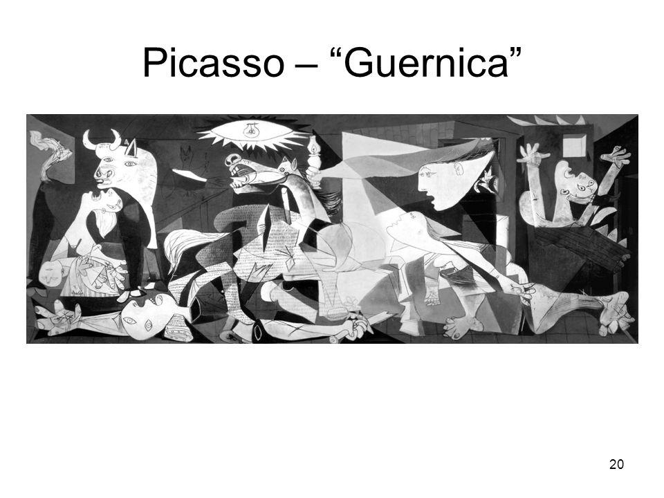 Picasso – Guernica 20