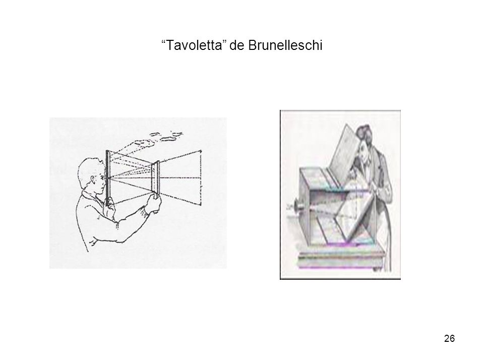 Tavoletta de Brunelleschi 26
