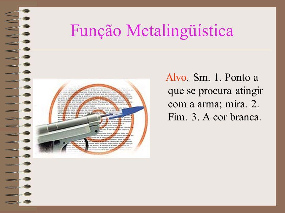 Características: Função cognitiva ou referencial ou denotativa É a função que ocorre quando o destaque é dado ao referente, ou seja, ao contexto, ao assunto.