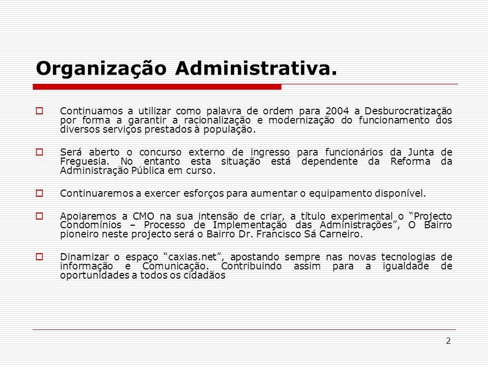 2 Organização Administrativa.