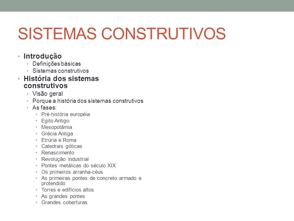 Introdução O que são sistemas estruturais.