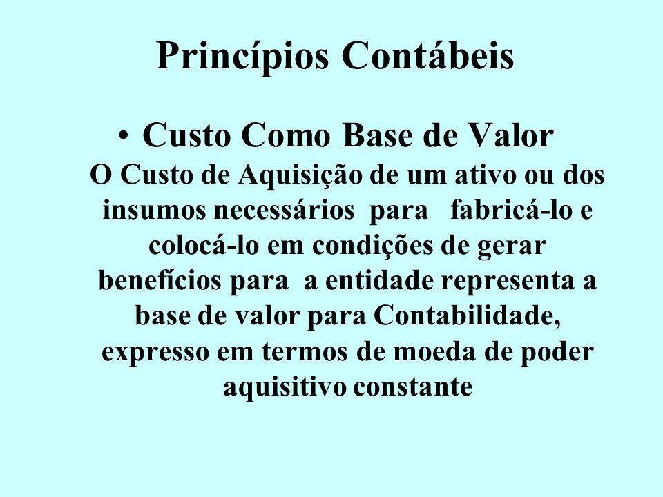 Postulados Contábeis Entidade Contábil A Contabilidade é mantida para a Entidade e, os sócios ou quotistas não devem se confundir com ela. Suas dimens