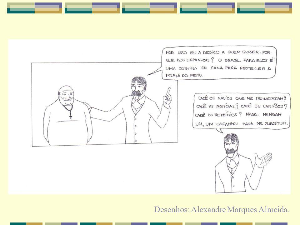 Desenhos: Alexandre Marques Almeida.
