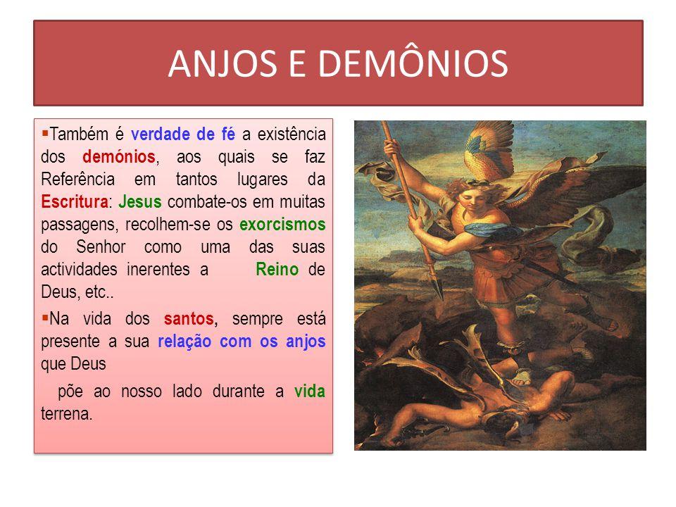 Os anjos Assistência dos anjos no NT Assistência dos anjos no NT São Gabriel: anunciação de João Baptista e de Jesus.