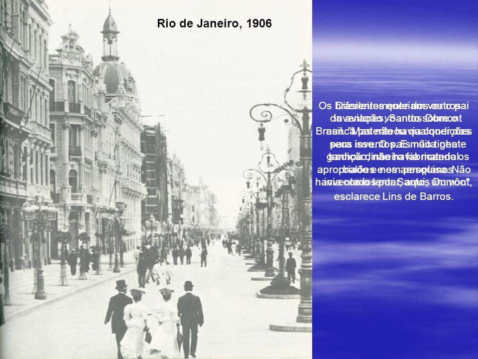 Com o número 18, um hidroavião, Santos Dumont ganhou uma competição pelo rio Sena, em Paris.