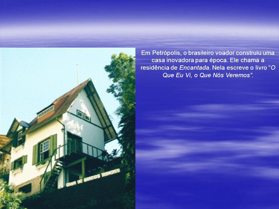 Diferentemente dos outros inventores, Santos Dumont nunca patenteou qualquer dos seus inventos. E muita gente ganhou dinheiro fabricando os balões e o