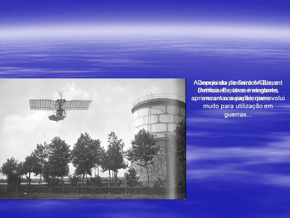 Em Petrópolis, o brasileiro voador construiu uma casa inovadora para época. Ele chama a residência de Encantada. Nela escreve o livro O Que Eu Vi, o Q