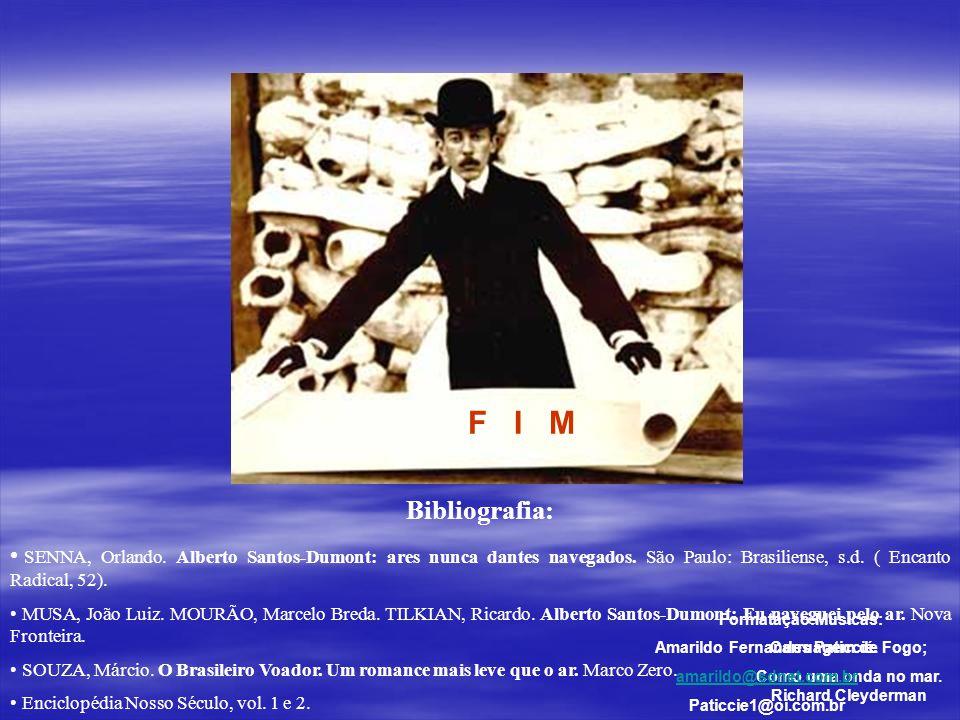 Mas, cem anos depois ficou provado: Fazer um 14BIS decolar não é nada fácil... Jornal Mensagem, Outubro de 2006