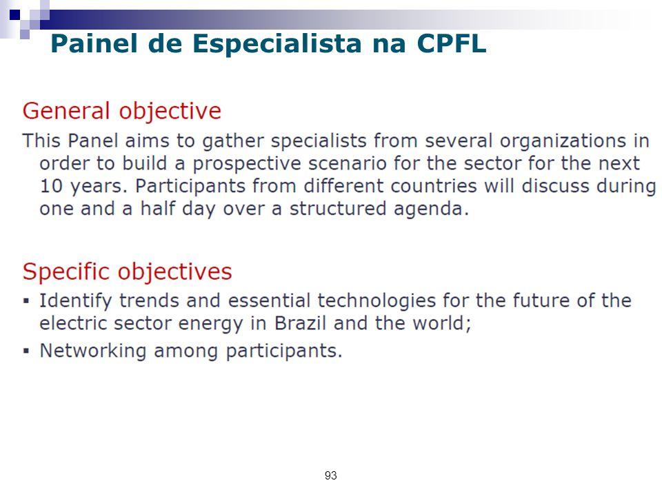 93 Painel de Especialista na CPFL