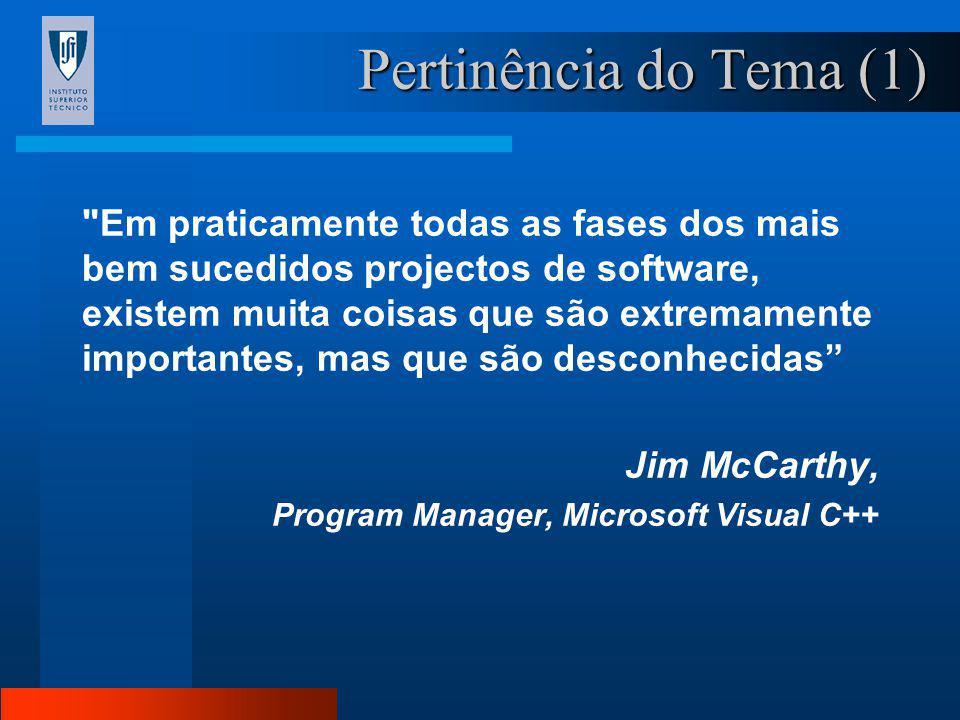 Orientador: Prof. Luís Valadares Tavares Marco António Oliveira Riscos e Dificuldades no Desenvolvimento de Software Mestrado em Engenharia e Gestão d