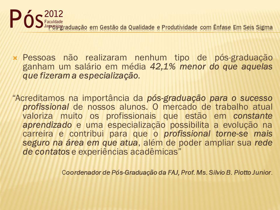 FAJ tem mais de 34 cursos e mais de 887 alunos de Pós-Graduação