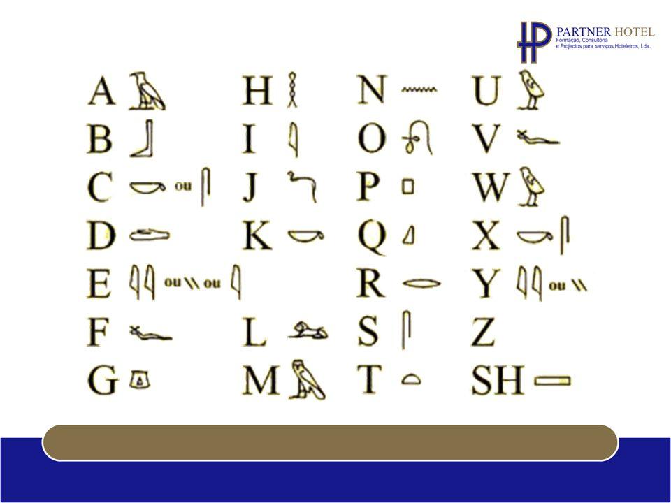 O alfabeto é ( e sempre foi) uma ferramenta indispensável na nossa comunicação.