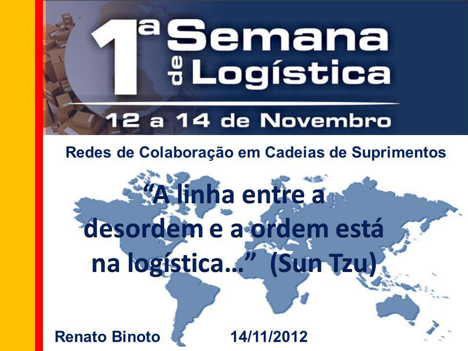 Redes de Colaboração em Cadeias de Suprimentos Renato Binoto 14/11/2012