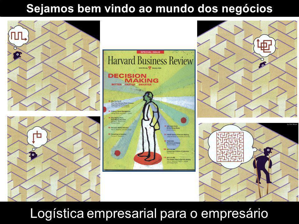 Sejamos bem vindo ao mundo dos negócios Logística empresarial para o empresário