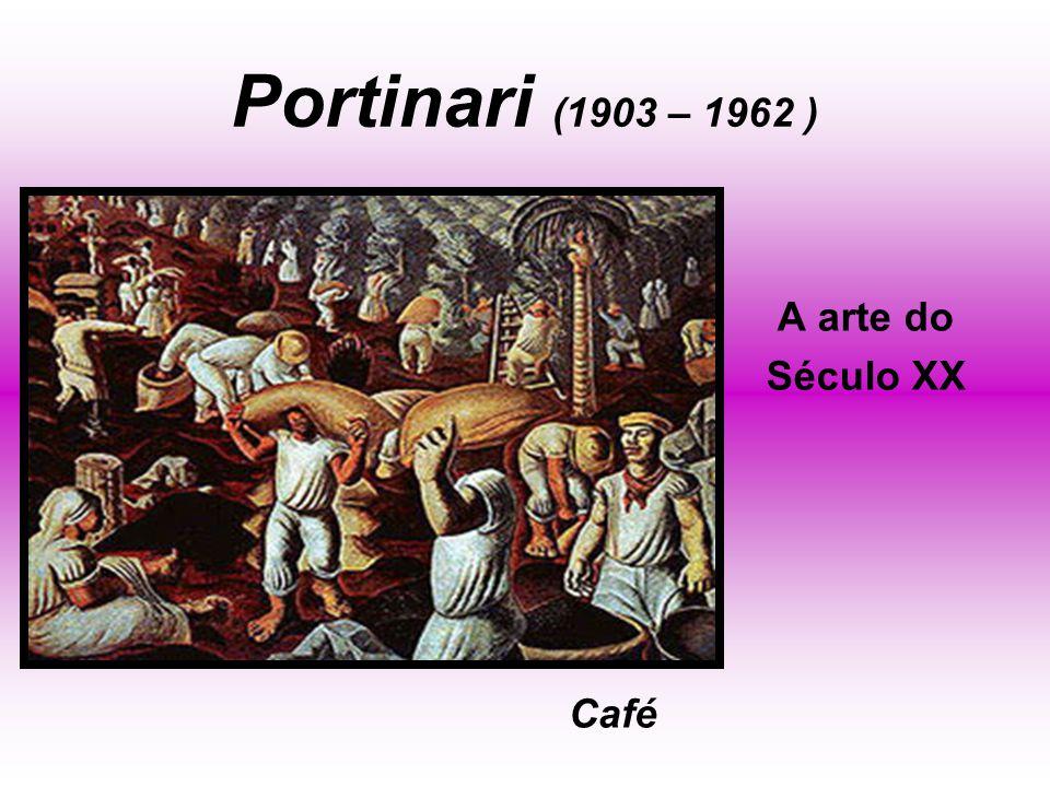 Portinari (1903 – 1962 ) A arte do Século XX Café