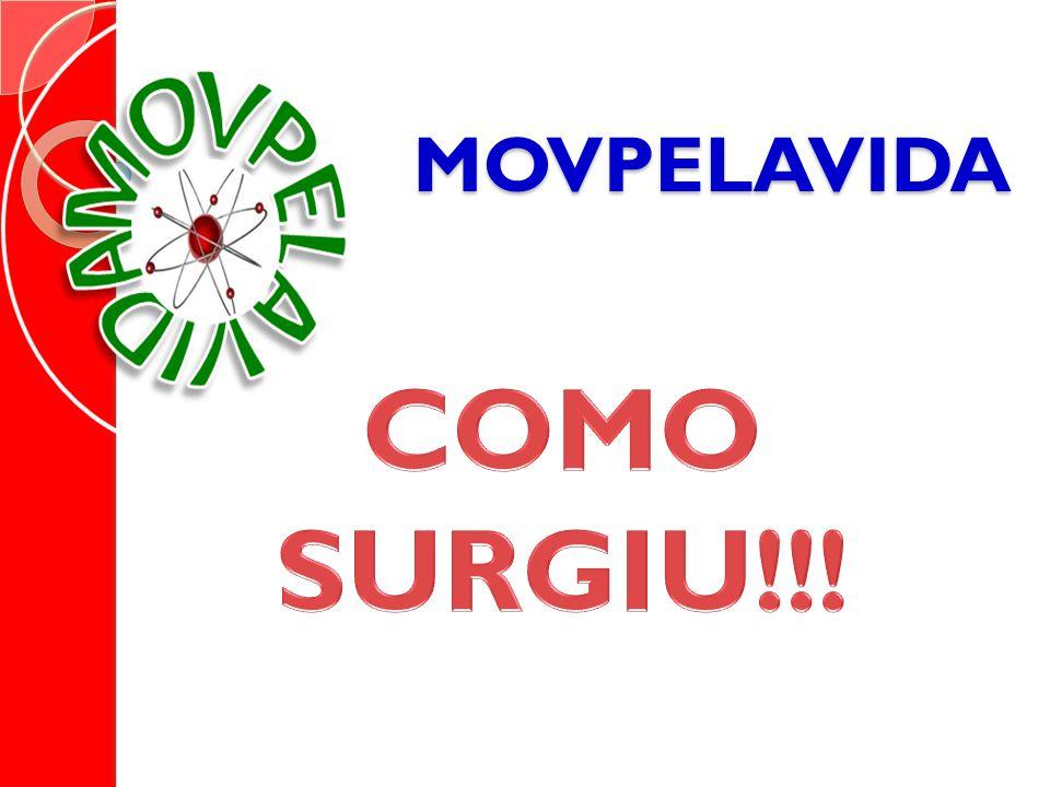 MOVPELAVIDA Movimento Pela Vida Sóbria Sem Uso Indevido de Drogas no Brasil. É uma entidade que reúne lideranças de vários estados do Pais. Líderes em