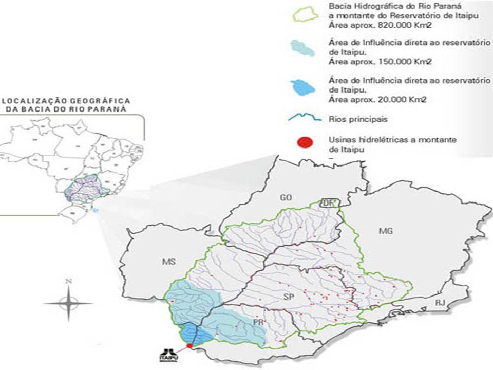 Os rios que formam a bacia podemos destacar o São Francisco que nasce em Cascavel, o Guaçu, que nasce em Toledo, o São Francisco Falso, que nasce em C