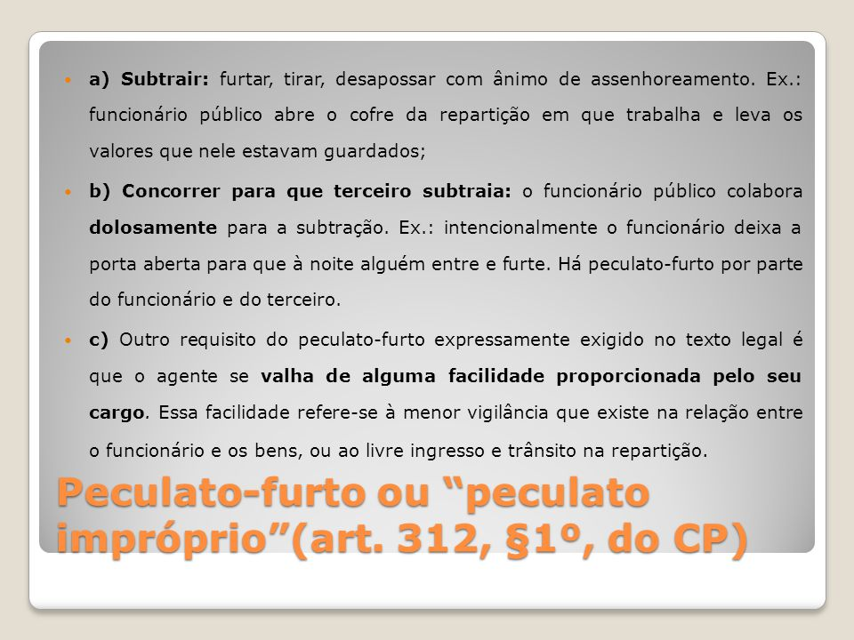 Advocacia Administrativa (art.