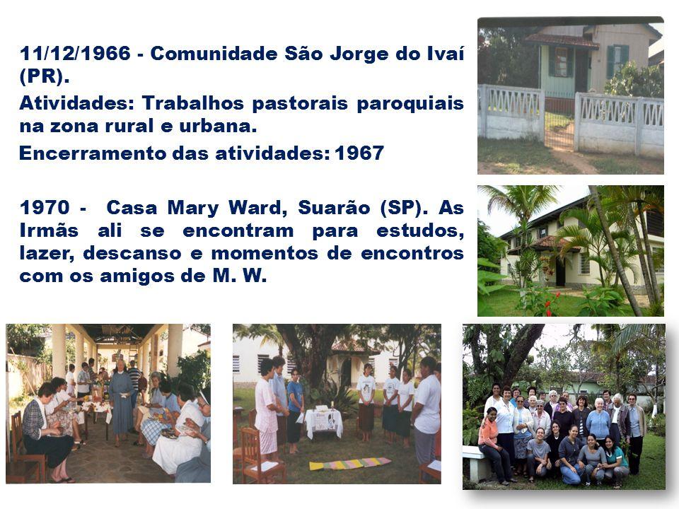 11/12/1966 - Comunidade São Jorge do Ivaí (PR).