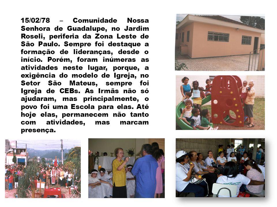 20/01/78 – Em Ipatinga (MG) uma comunidade que se dedicou ao Ensino em Escola Pública trabalho de enfermagem no hospital Márcio Cunha.