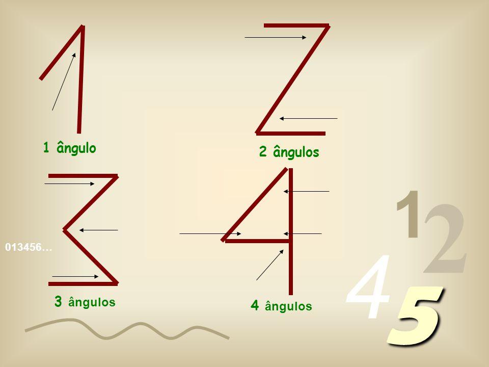 013456… 1 2 4 5 Olhem para os algarismos que se seguem, escritos na sua forma original, e verifiquem por vocês próprios.