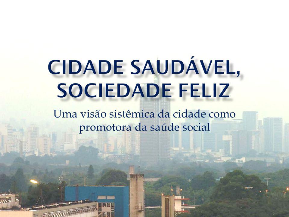 Uma visão sistêmica da cidade como promotora da saúde social