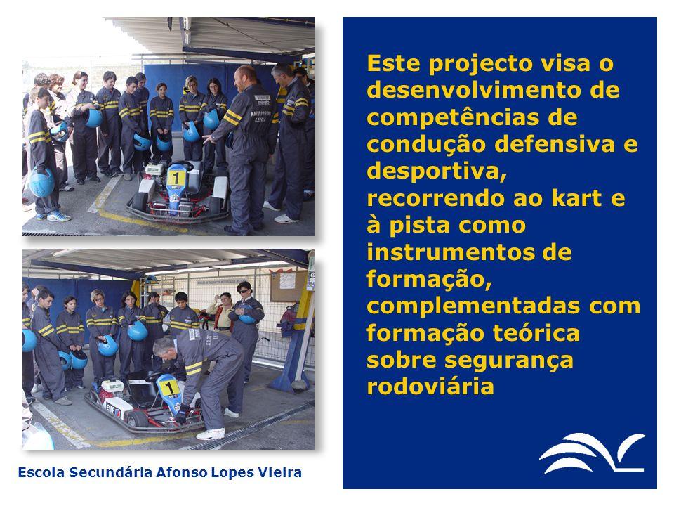 Escola Secundária Afonso Lopes Vieira Estas equipas de rua vão realizar intervenções mensais, a partir de Janeiro de 05, complementadas com acções junto das crianças e pais de alguns infantários e creches