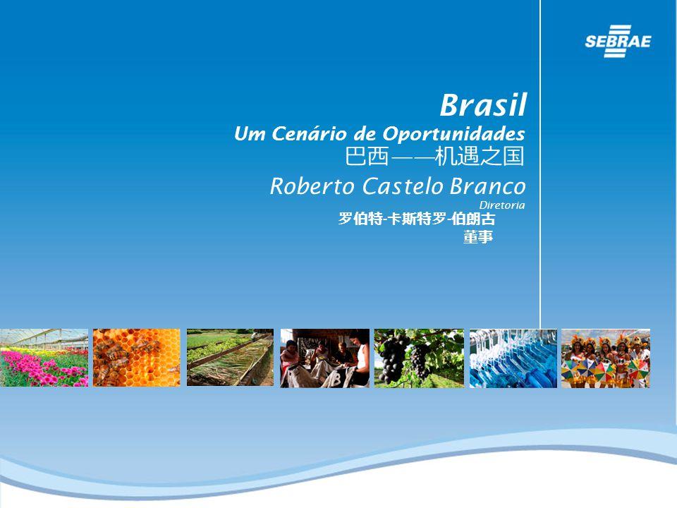 Brasil Um Cenário de Oportunidades Roberto Castelo Branco Diretoria - -