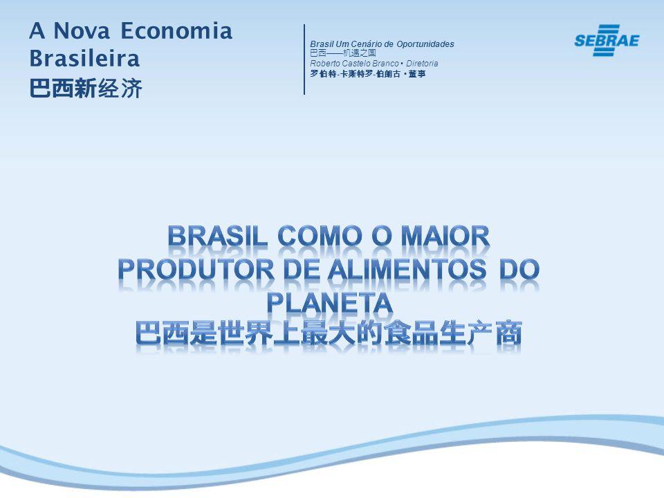 A Nova Economia Brasileira Brasil Um Cenário de Oportunidades Roberto Castelo Branco Diretoria - -