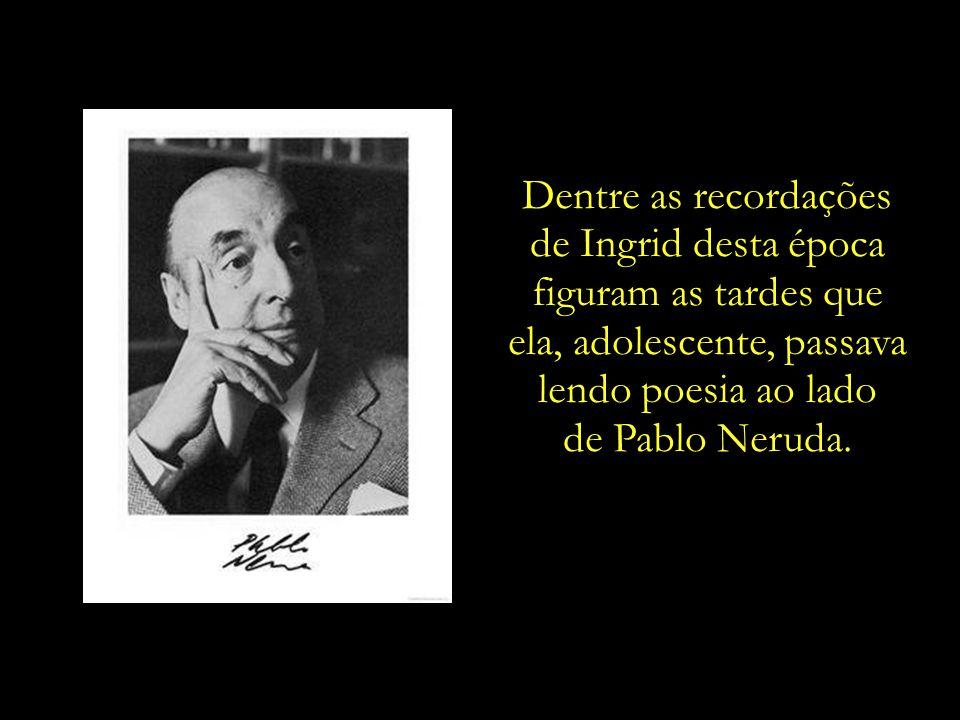 A residência da família era um local de encontro para renomados pensadores e artistas latino-americanos, como Pablo Neruda, Fernando Botero e Gabriel