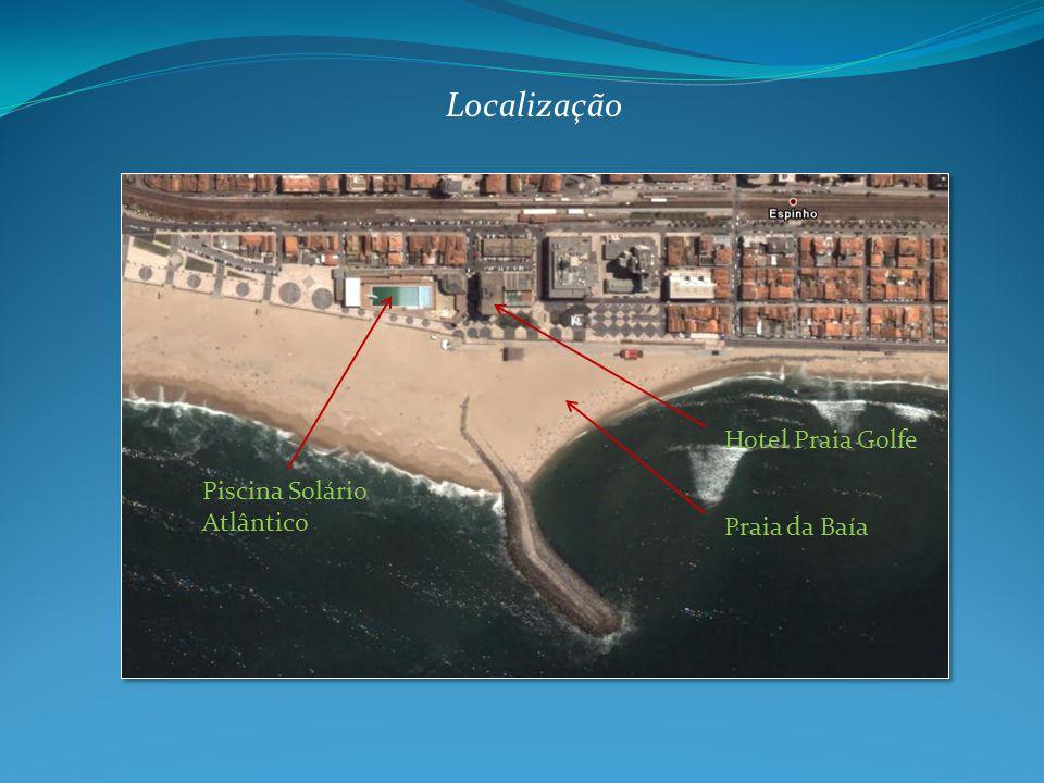 Praia da Baía Piscina Solário Atlântico Localização Hotel Praia Golfe