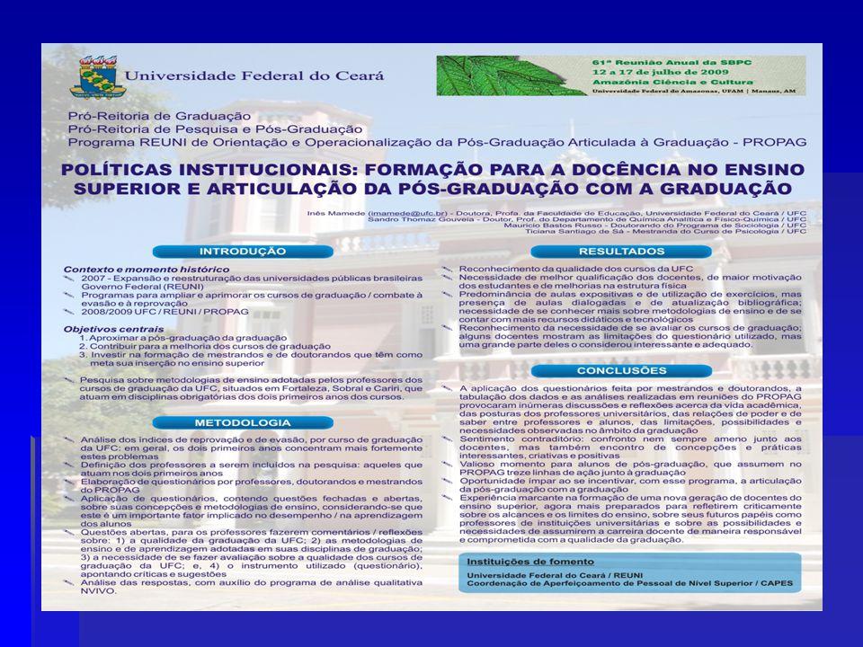 6 ACOMPANHAMENTO GERAL DAS AÇÕES DO PROPAG Prof.Custódio Luís Silva de Almeida Prof.