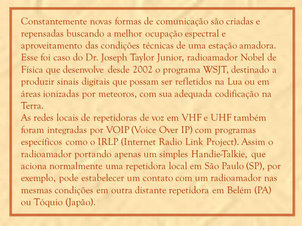Por outro lado, o radioamador brasileiro está considerando o seu futuro com incerto devido abordagens extremamente cerceadoras e infelizes imputadas pelo próprio governo federal.